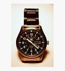 Lámina fotográfica Seiko 5 Sports Automatic 23 Jewels 100M Reloj militar
