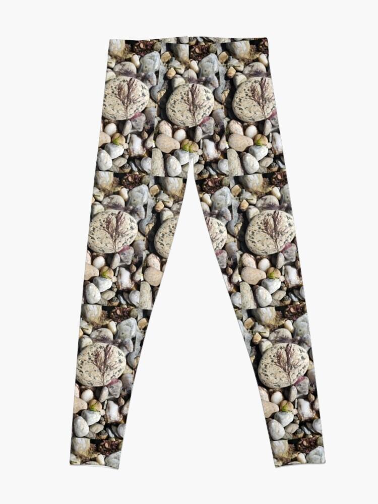 Alternate view of Seaweed Left on a Rock Leggings