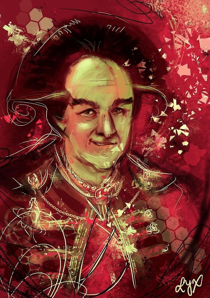 Londo Mollari Red by ladyyatexel