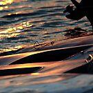 Sailboats at Lake Crabtree II by mojo1160