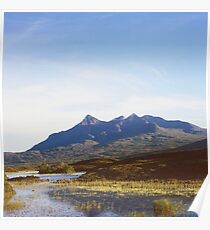 The Cuillin Hills on the Isle of Skye Poster