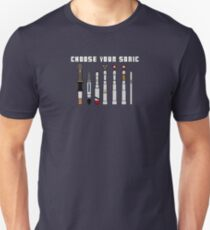 The choice is yours!  Choose Your Sonic! Unisex T-Shirt
