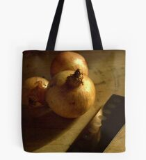 Onions ready for chopping  Tote Bag