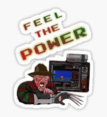 Freddy Power Glove! (FeeL The Power) Sticker