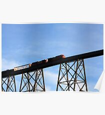 Lethbridge High Level Bridge Poster