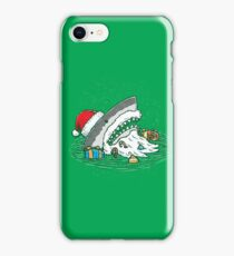 The Santa Shark iPhone Case/Skin