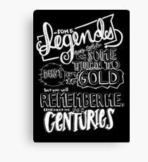 """""""Centuries"""" von Fallout Boy Lyric Zeichnung Leinwanddruck"""