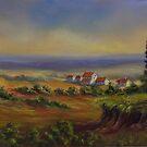 Tuscany At Dusk by Charlotte  Blanchard