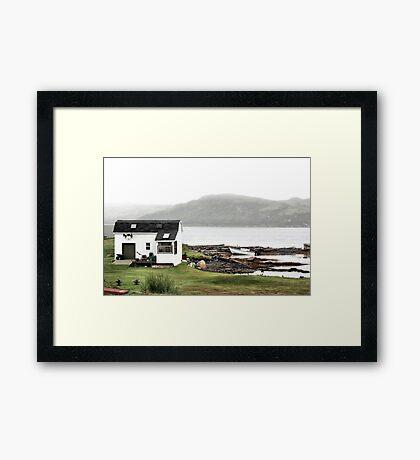 Fisherman's Haven Framed Print