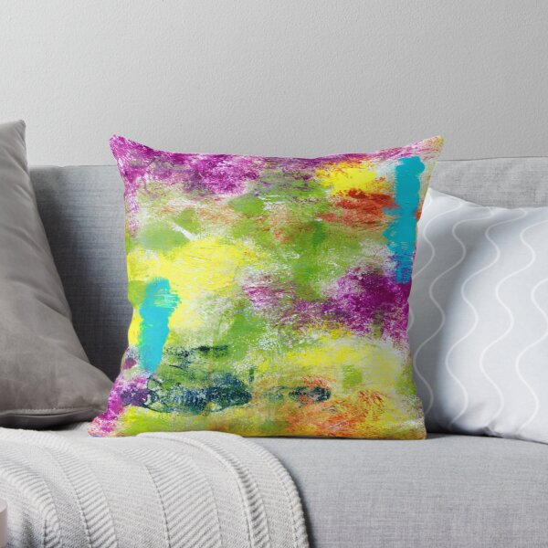 VIBRANCY Throw Pillow