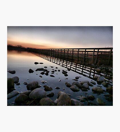 Fleetwood Nature Reserve . Photographic Print