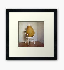 Perry was just thankful not to have her mothers piano legs... Framed Print