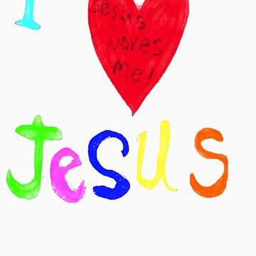 I Love Jesus,..Jesus Loves Me..tee by MaeBelle