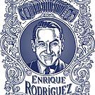 Enrique Rodríguez in Blue by LisaHaney