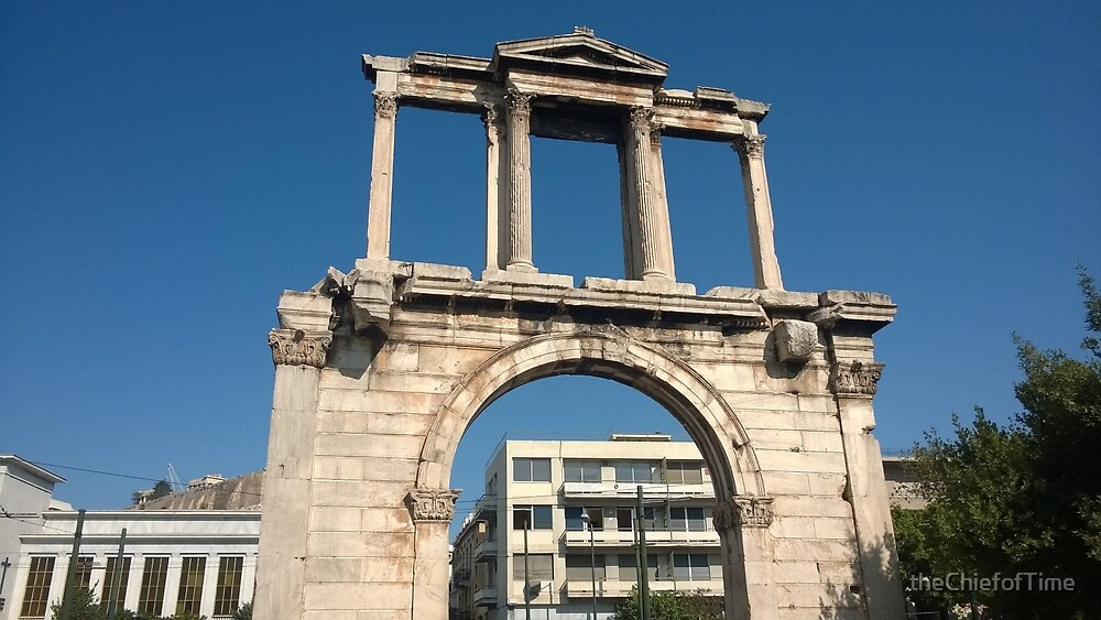 Hadrian's Arch, Athens, Greece by theChiefofTime