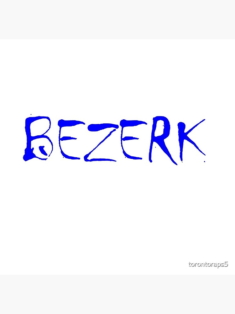 Bezerk Blue by torontoraps5