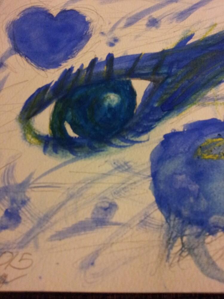 blue eye by iszebelabee