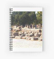 Altes Olympia, Griechenland Spiralblock
