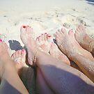 Enjoying the beach by the57man