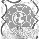 Celtic Eagle by redqueenself