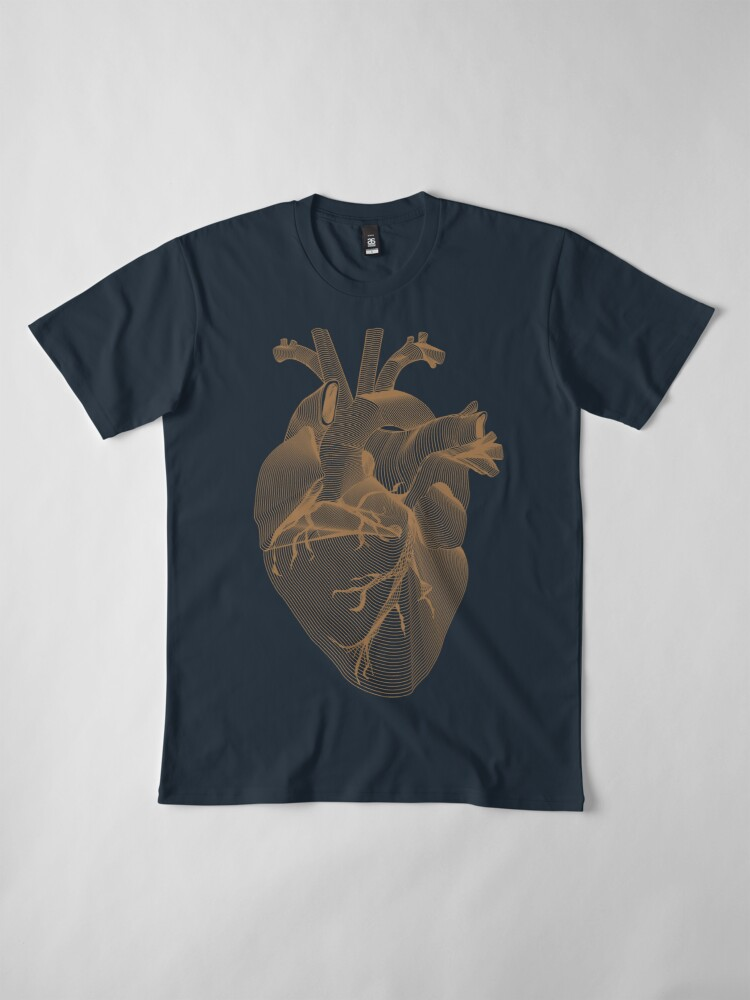 Alternate view of Bleeding Heart Premium T-Shirt