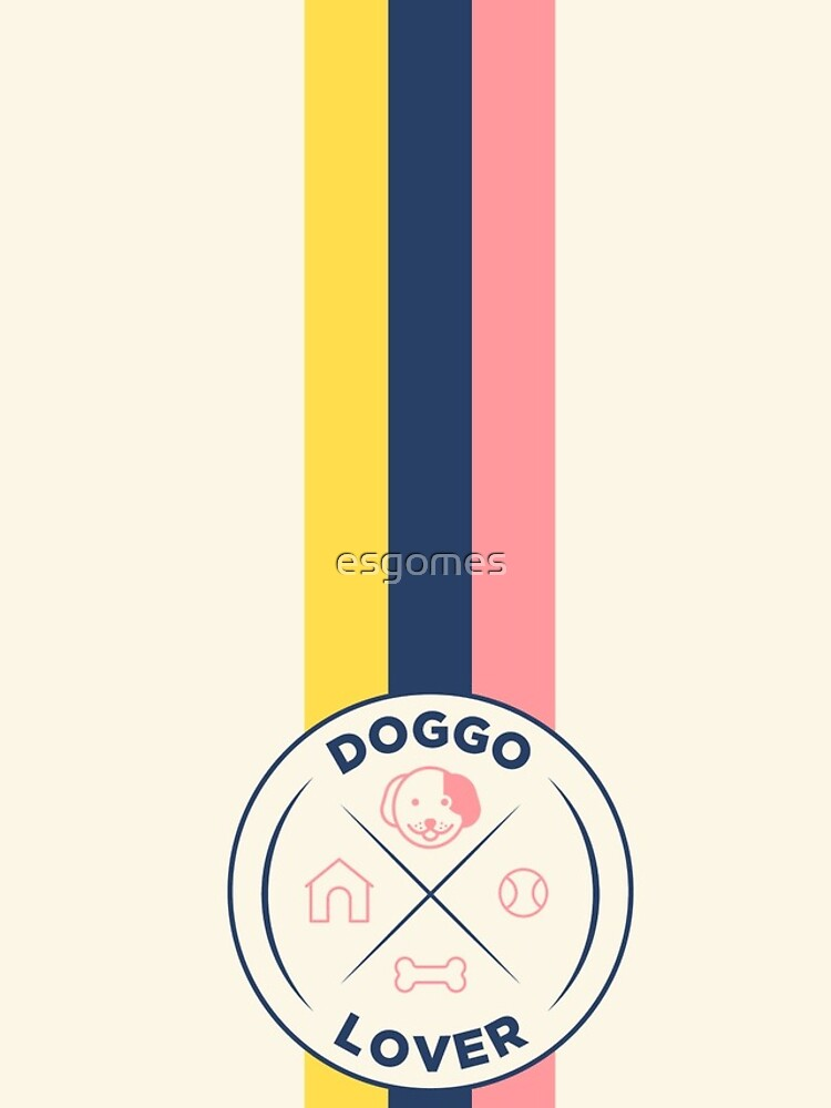 Funny Dog Lover Retro Badge by esgomes