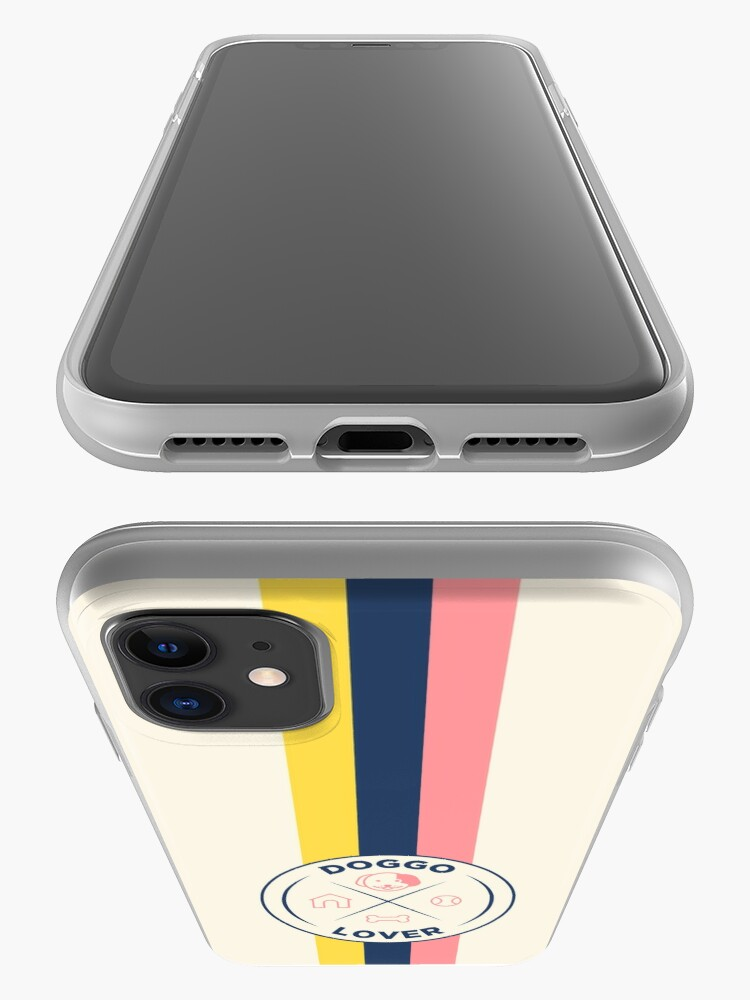 Alternate view of Funny Dog Lover Retro Badge iPhone Case & Cover