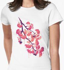 O Ginkgo Tailliertes T-Shirt für Frauen