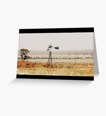 I love a Sunburnt Country Greeting Card