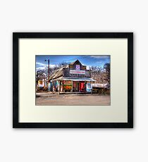General Store _ Rosston, Texas Framed Print