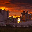 Industrial Sunset by RedChevy