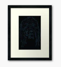 David Bowie Goblin King Framed Print