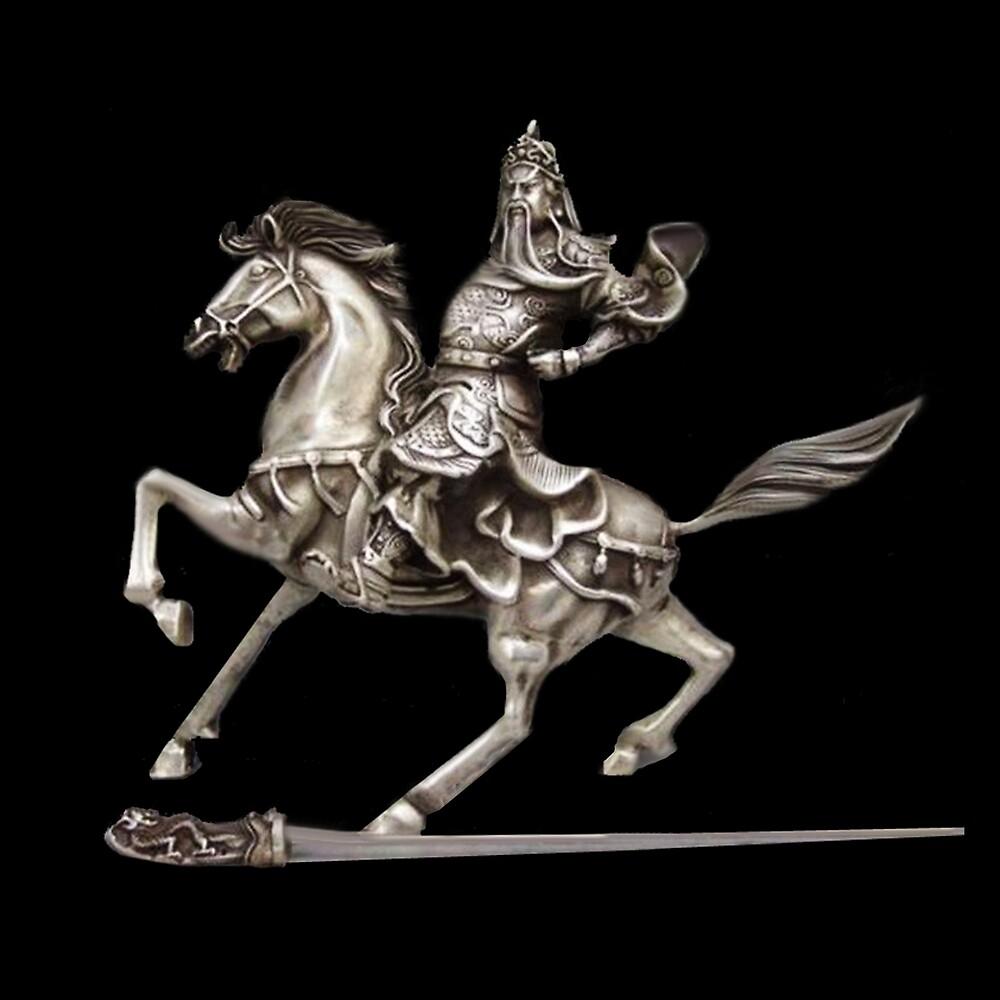 HORSE AND RIDER SILVER STATUE ..APPAREL by ✿✿ Bonita ✿✿ ђєℓℓσ