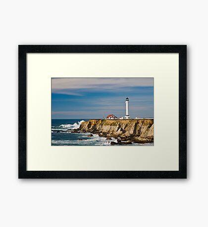 Point Arena Lighthouse Framed Print