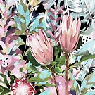October Proteas by InkheArt  Designs