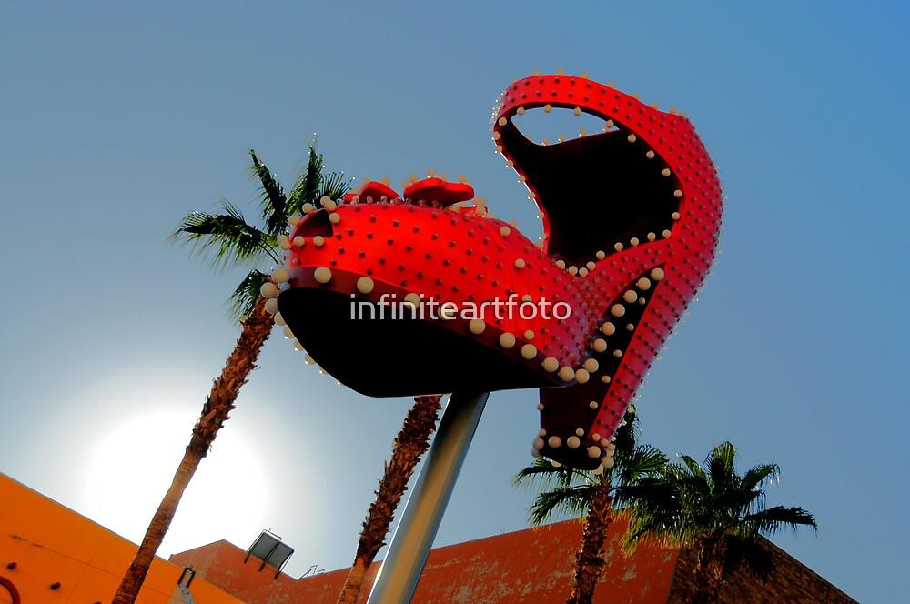 Red Hot Shoe by infiniteartfoto