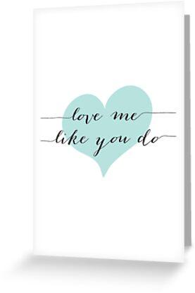 Love Me Like You Do by indulgemyheart