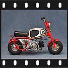 Honda Monkey CZ 100 Mark 1 Photoart 1.0 von IngoLaue