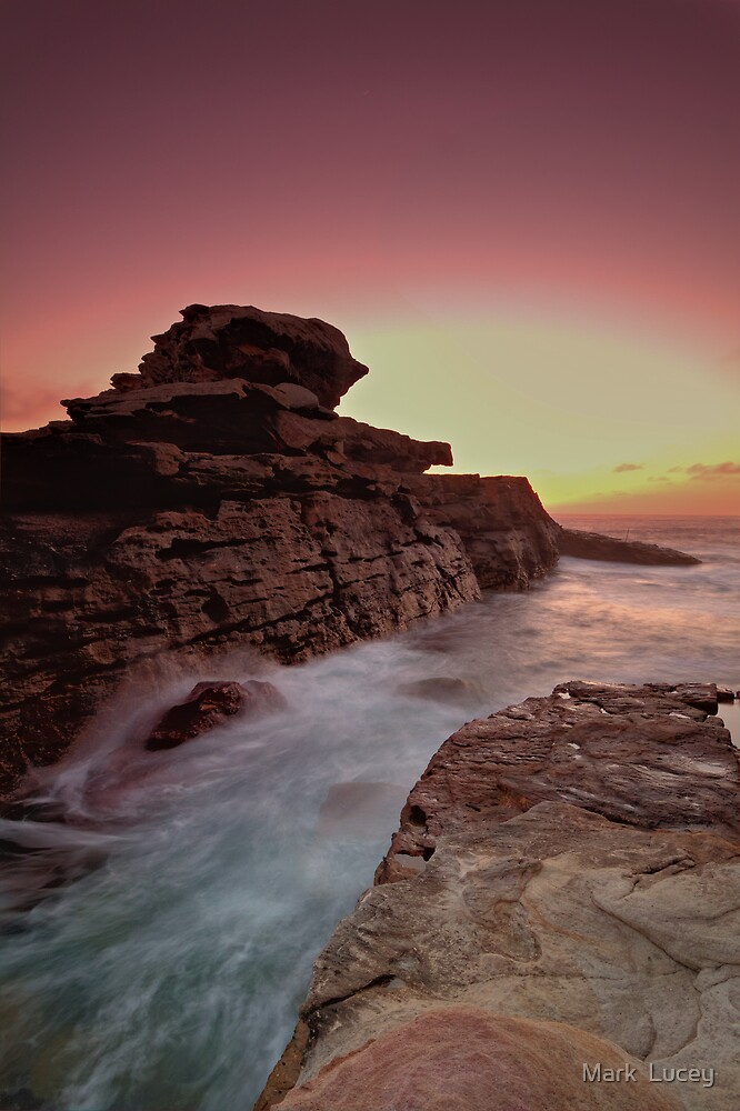 Rock Temple by Mark  Lucey