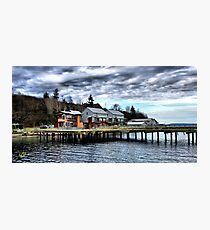 Langley Marina One Photographic Print