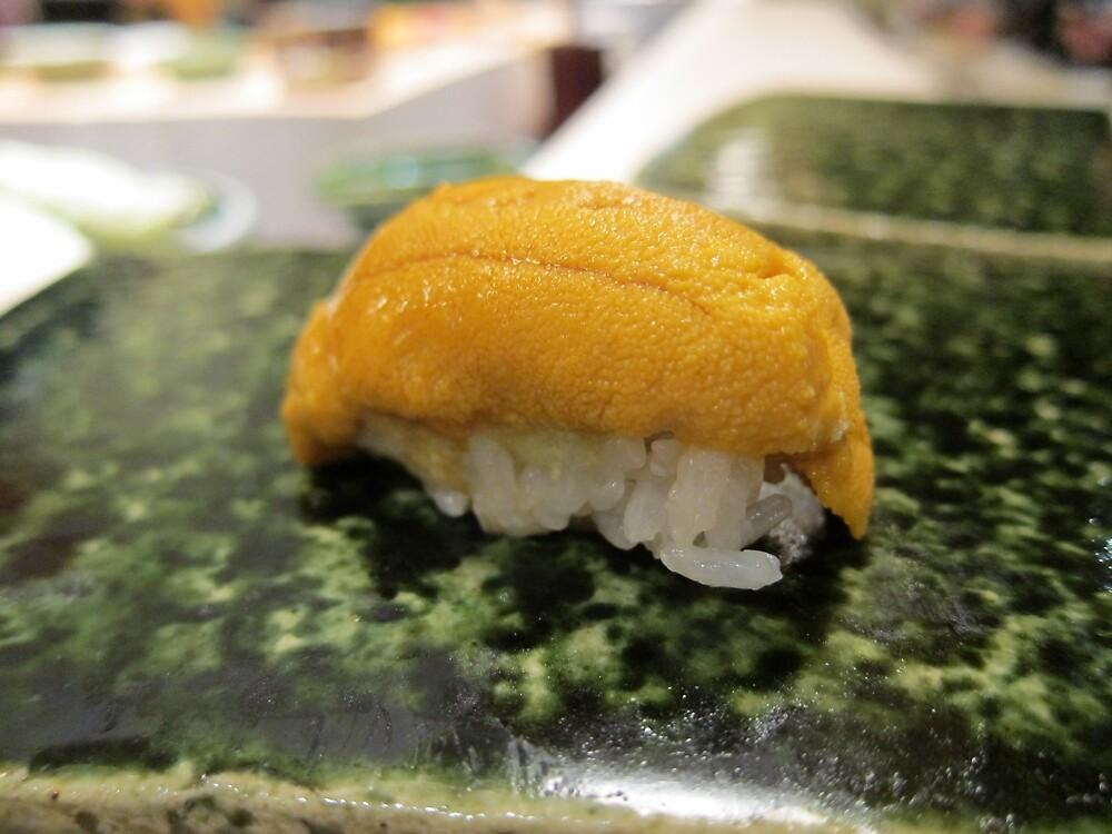 Uni Sea Urchin Nigiri by SushiBar