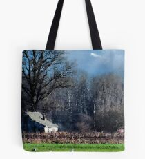 Skagit Barn Digital Painting Tote Bag