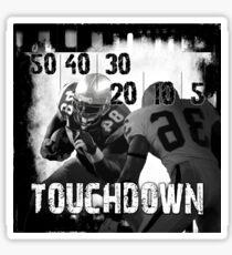 50..30..10..Touchdown! Sticker