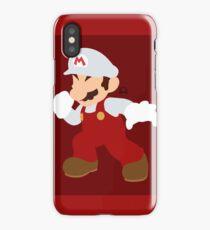 Mario (Fire) - Super Smash Bros. iPhone Case/Skin