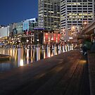 Dreamy Darling Harbour by Roger Wain