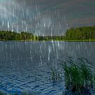 Beautiful Rainy Morning In The Archipelago by hurmerinta