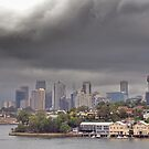 Stormy Sydney Skies by Clare McClelland