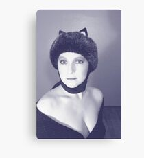 Kitty that Swallowed Canary Canvas Print