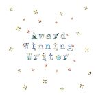Award Winning Writer Color Font Design Keeps You Inspired And Writing! by MHirose