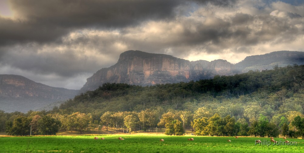 Valley of Light And Shadows- Capertee Valley, Australia - The HDR Experience by Philip Johnson